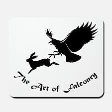 Art of Falconry - Redtail hawk Mousepad