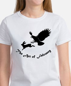 Art of Falconry - Redtail hawk Tee