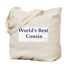 World's Best Cousin Tote Bag