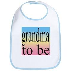 109b. grandma to be [black on Bib
