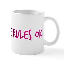Man-Love Rules Ok Mug