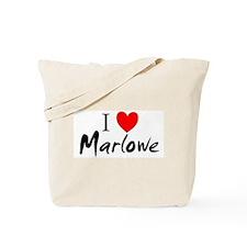 I Love Marlowe Tote Bag