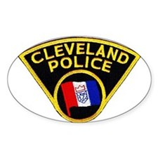 Cleveland Police Oval Decal