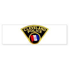 Cleveland Police Bumper Sticker (10 pk)