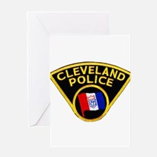 Cleveland Police Greeting Card