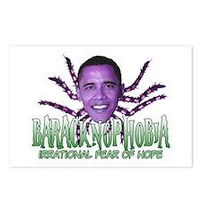 Baracknophobia Postcards (Package of 8)