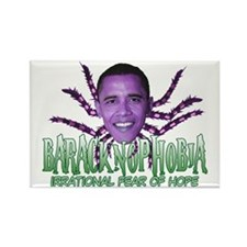 Baracknophobia Rectangle Magnet (100 pack)