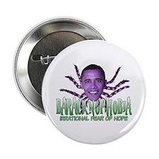 """Baracknophobia 2.25"""" Button"""