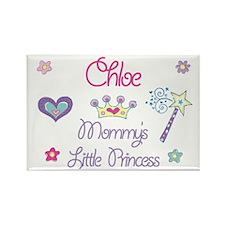 Chloe - Mommy's Princess Rectangle Magnet