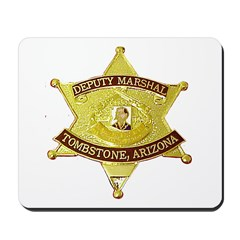 Tombstone Marshal Mousepad