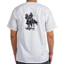 Old Bill Cavalry Mascot T-Shirt
