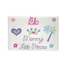 Ella - Mommy's Princess Rectangle Magnet