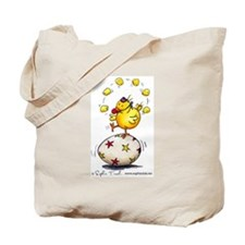 Juggling Chick Tote Bag