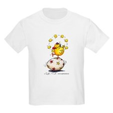 Juggling Chick Kids T-Shirt