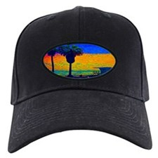 Beach Campground Baseball Hat