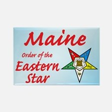 Maine Eastern Star Rectangle Magnet (10 pack)