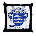 Garvie Family Crest Throw Pillow