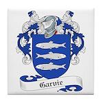 Garvie Family Crest Tile Coaster