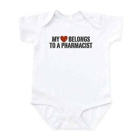 My Heart Belongs to a Pharmacist Infant Bodysuit