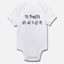 Producers are out to get me Infant Bodysuit