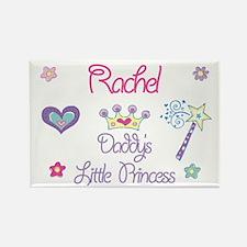 Rachel - Daddy's Princess Rectangle Magnet