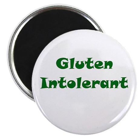 "Gluten Intolerant 2.25"" Magnet (10 pack)"