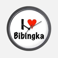 I love Bibingka Wall Clock