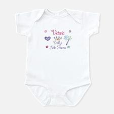 Victoria - Daddy's Princess Infant Bodysuit