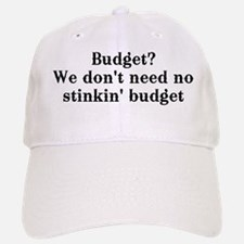 Budget? We don't need no... Baseball Baseball Cap