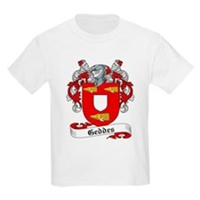Geddes Family Crest Kids T-Shirt