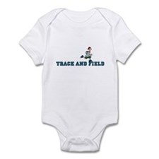 Track and field (guy) Infant Bodysuit