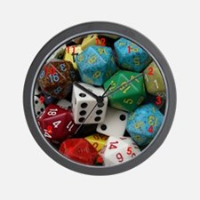 Got Dice? Wall Clock