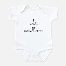 Funny natasha Infant Bodysuit