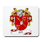 Gib Family Crest Mousepad