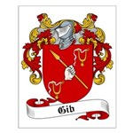 Gib Family Crest Small Poster