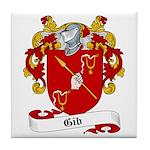 Gib Family Crest Tile Coaster