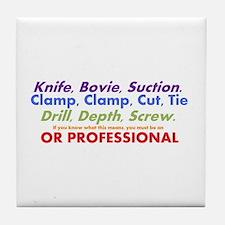 OR Pro Tile Coaster