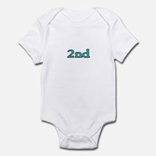 1st and 2nd Infant Bodysuit