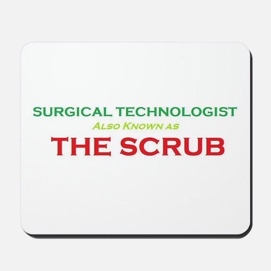 ST The Scrub Mousepad