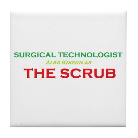 ST The Scrub Tile Coaster