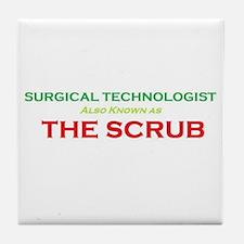 ST The Scrub Tile Coaster