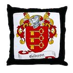 Gibson Family Crest Throw Pillow