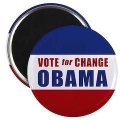 """Vote for Change Obama 2.25"""" Magnet (10 pack)"""