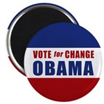 Vote for Change Obama Magnet