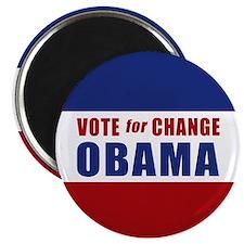 Vote for Change Obama Magnet