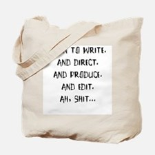 Born to write. And direct... Tote Bag