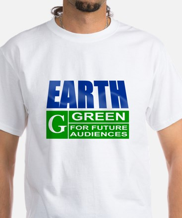 Earth Rated G - White T-Shirt