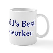 World's Best Co-worker Small Mug