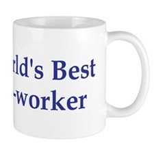 World's Best Co-worker Small Mug