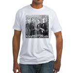 Abraham Lincoln Inauguration Fitted T-Shirt